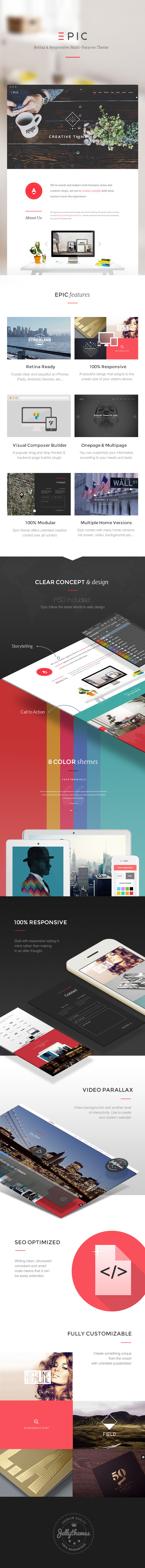 EPIC - Responsive Multi-Purpose Theme - 2