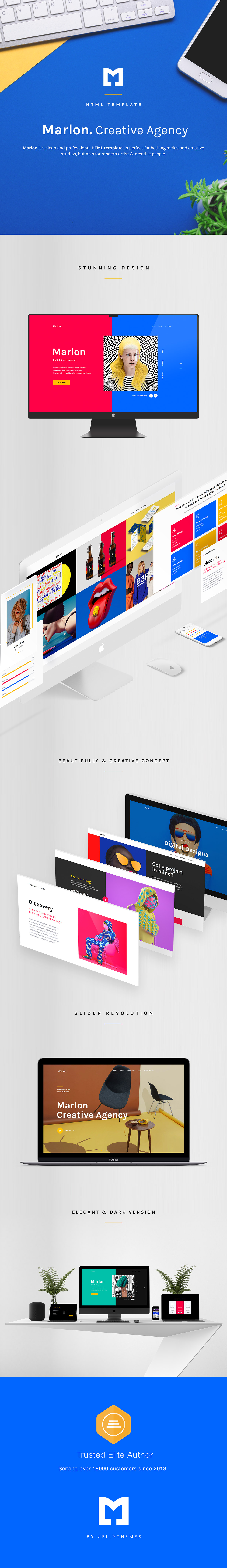 Marvin - Creative Agency Portfolio HTML Template - 1