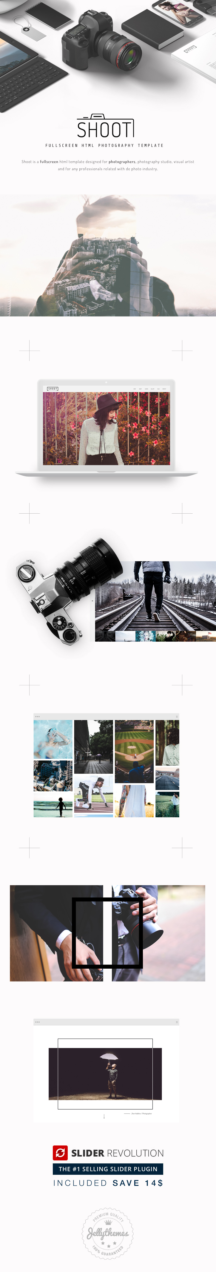 Shoot - Fullscreen Photography HTML Template - 1